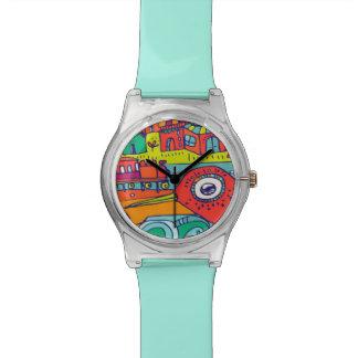 clock with bird wrist watches