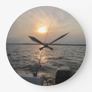 Clock with Sunset