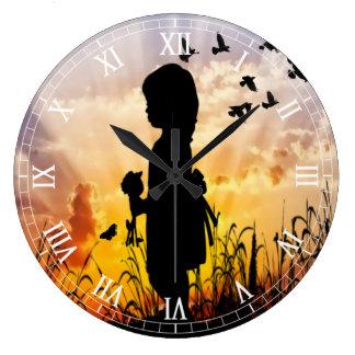 Clockart  (35) large clock