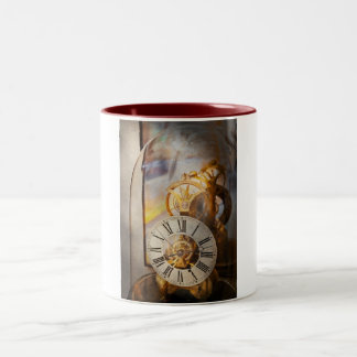Clockmaker - A look back in time Two-Tone Mug