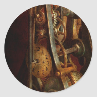 Clockmaker - Careful, I bite Classic Round Sticker