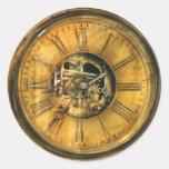 Clockmaker - Clock Works Round Sticker