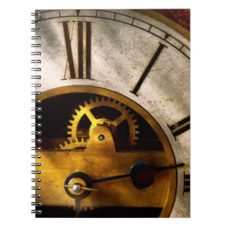 Clockmaker - What time is it Notebook