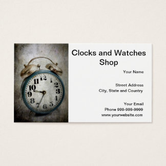clocks and watches shop