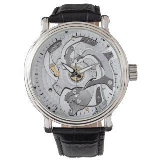 Clocks Inner Workings Wrist Watches