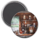 Clocksmith - In the Clock Repair Shop 7.5 Cm Round Magnet