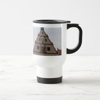 Clocktower Stainless Steel Travel Mug