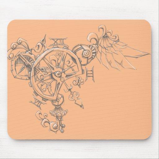 Clockwork Bryon Mouse Pads