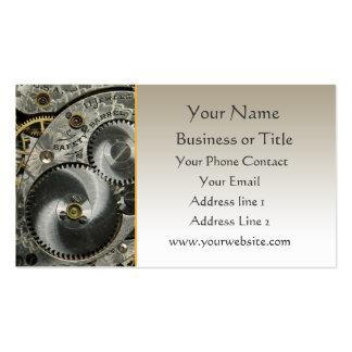 Clockwork Business Card Template