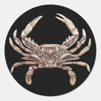 Clockwork Crab Stickers