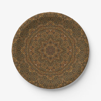 Clockwork Kaleidoscope   Paper Plates