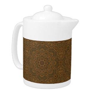 Clockwork Kaleidoscope   Pattern  Teapots