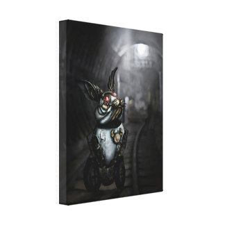 Clockwork Rabbit Canvas Print