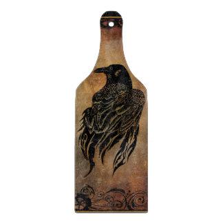 Clockwork Raven Cutting Board