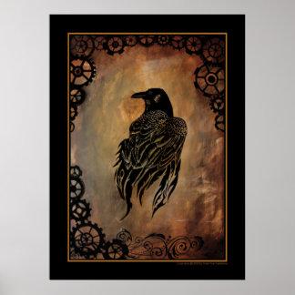 Clockwork Raven Poster