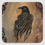 Clockwork Raven Sticker