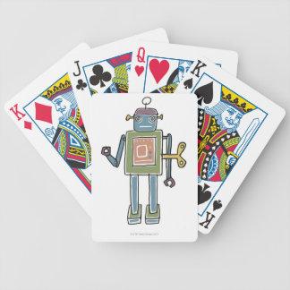 Clockwork Robot Bicycle Playing Cards