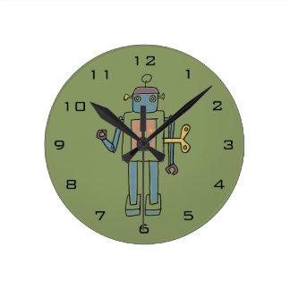 Clockwork Robot Clock