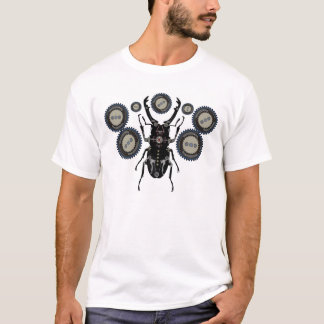 Clockwork Steampunk Insect beetle - cool gears T-Shirt