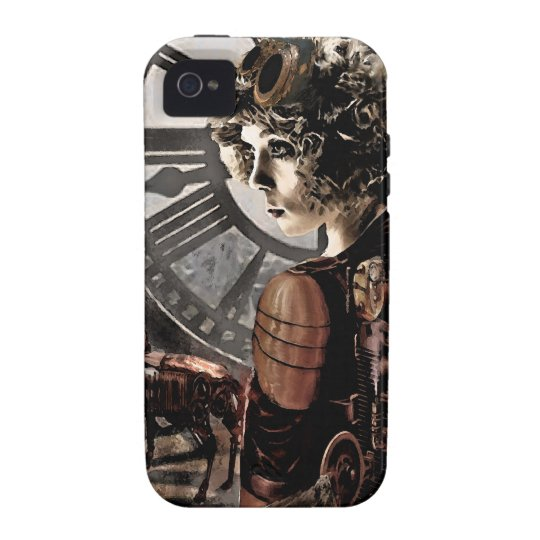 clockwork steampunk iphone vibe iPhone 4 covers