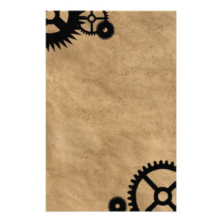 Clockwork Steampunk Stationery