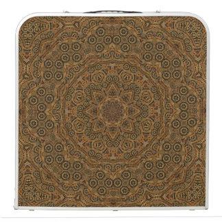"Clockwork Vintage Kaleidoscope   48""   Pong Table"