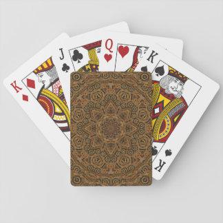 Clockwork Vintage Kaleidoscope   Playing Cards