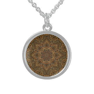 Clockwork  Vintage  Sterling Silver Necklace
