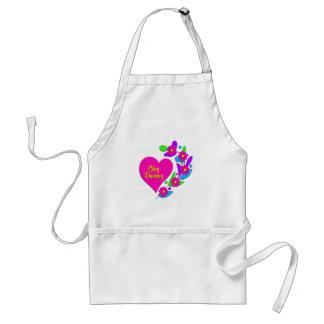 Clog Dancing Heart Standard Apron