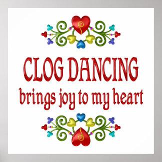 Clog Dancing Joy Print