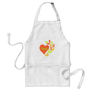 Clogging Heart Standard Apron