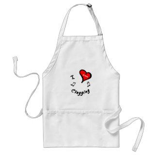 Clogging Items - I Heart Clogging Standard Apron