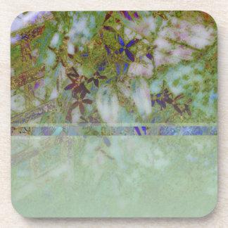 Cloisonne Blue Green Drink Coaster