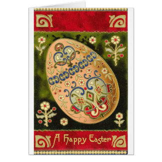 Cloisonne Easter Egg Card