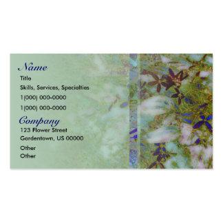 Cloisonne Green Garden Business Card