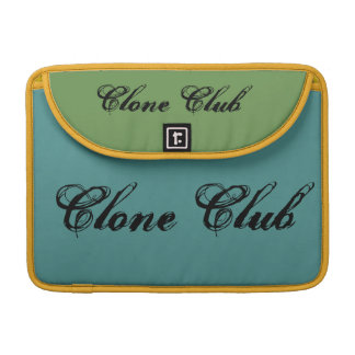 clone club cool green theme Orphan Black bag Sleeve For MacBooks