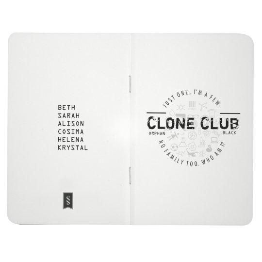 Clone Club Logo Journal