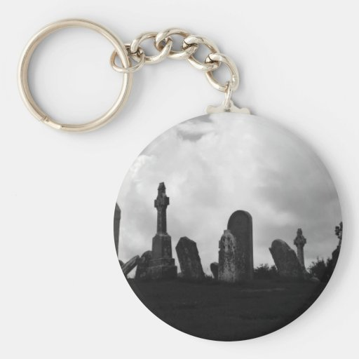 clonmacnoise gravestones key chain
