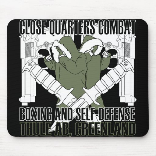 Close Quarters Combat Thule Greenland Mouse Pads