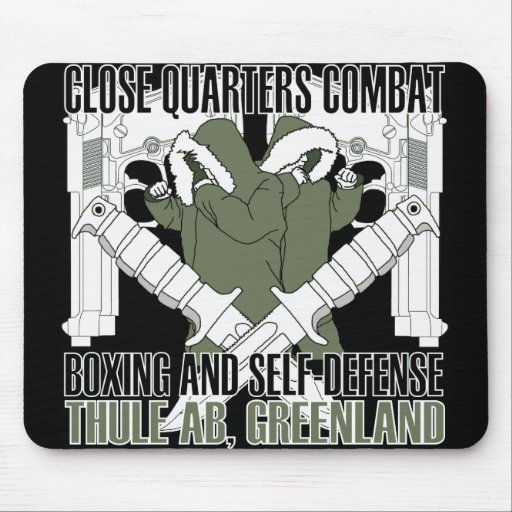 Close Quarters Combat, Thule, Greenland Mouse Pads