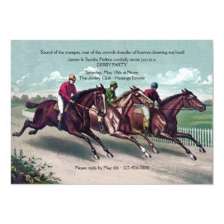 Close Race Derby Invitation