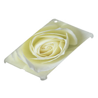 Close up details of white rose iPad mini covers
