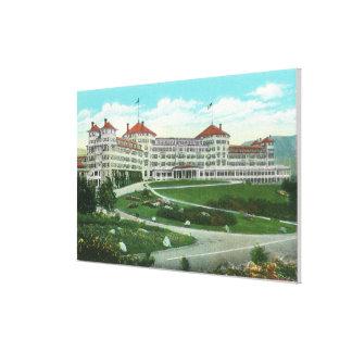 Close-up Exterior View of Mt. Washington Hotel Canvas Print