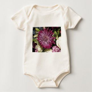 Close up Flower Design Baby Bodysuit