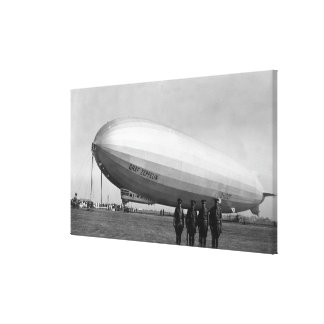 Close-Up Graf Zeppelin Blimp View Canvas Print
