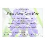 Close Up - Grape Hyacinth 13 Cm X 18 Cm Invitation Card