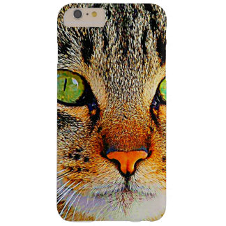 Close Up Green Eyed Cat Barely There iPhone 6 Plus Case