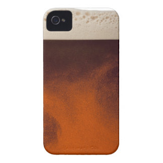 Close up image of amber colored beer with frothy Case-Mate iPhone 4 case