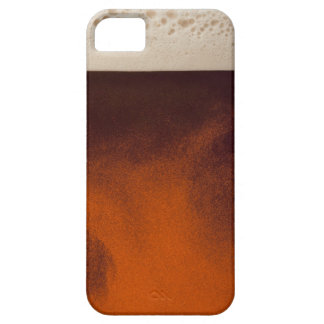 Close up image of amber colored beer with frothy iPhone 5 cover