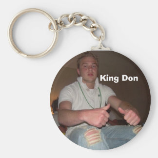 close up, King Don Key Ring